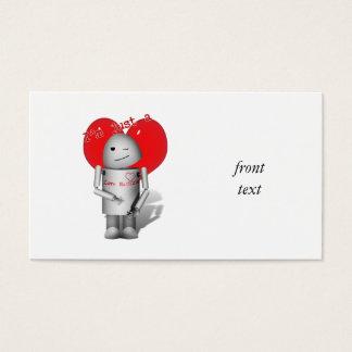 Robo-x9 Love Machine (With Heart) Business Card