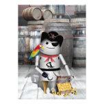 Robo-x9 - The Pirate Captain Personalized Announcement