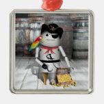 Robo-x9 - The Pirate Captain Ornament