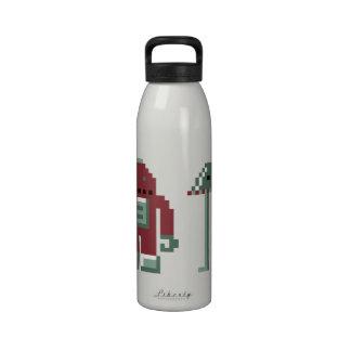 Robo y Bip Botella De Agua Reutilizable