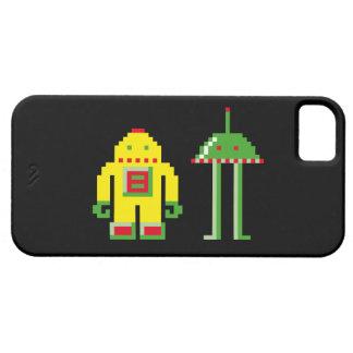 Robo y Bip Funda Para iPhone SE/5/5s