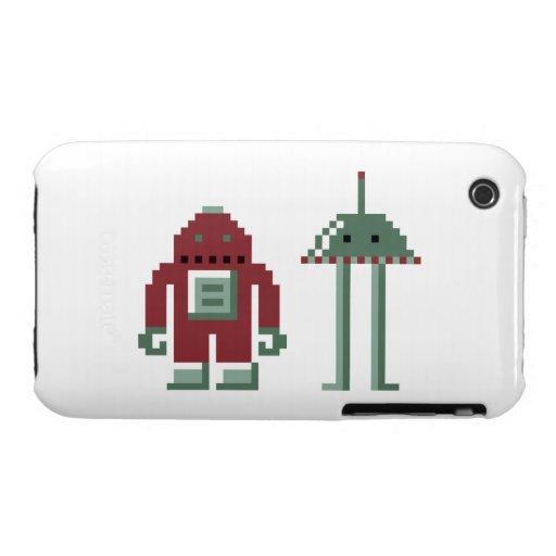 Robo y Bip iPhone 3 Protector