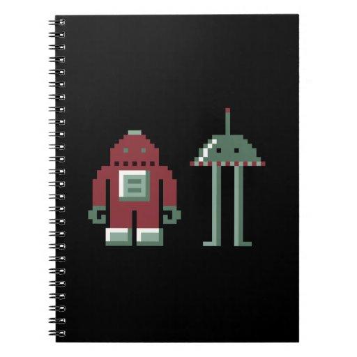 Robo y Bip Libro De Apuntes