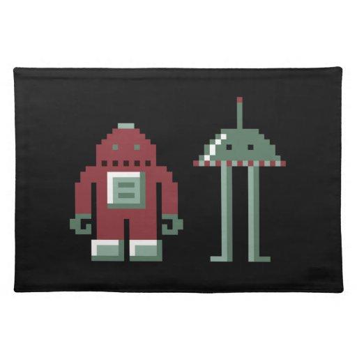 Robo y Bip Manteles