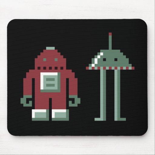 Robo y Bip Tapetes De Raton