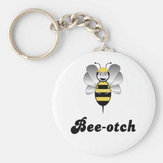 Robobee Bumble Bee Bee-otch Keychain