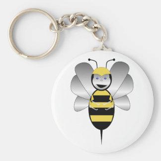 Robobee Bumble Bee Keychain