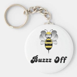 Robobee manosea zumbido de la abeja de llavero