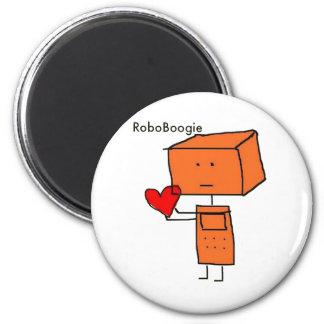 RoboBoogie Imán Redondo 5 Cm
