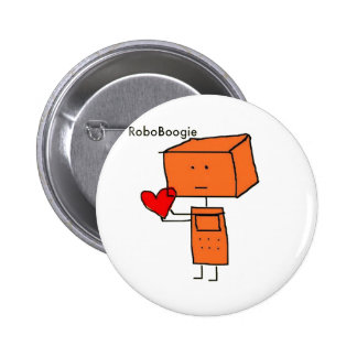 RoboBoogie Pin Redondo 5 Cm