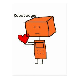 RoboBoogie Postcard