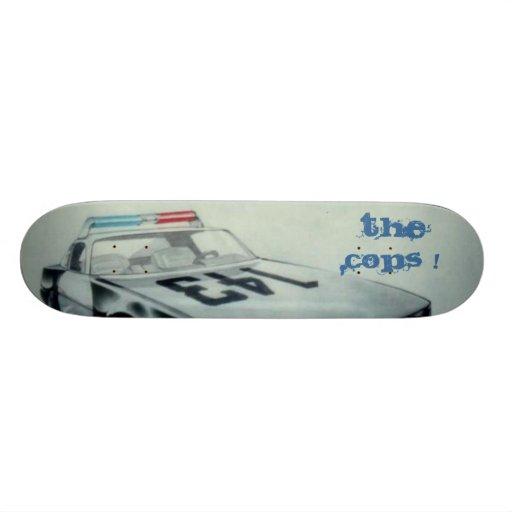 RoboCopFinal[1], The Cops ! Skate Board Deck