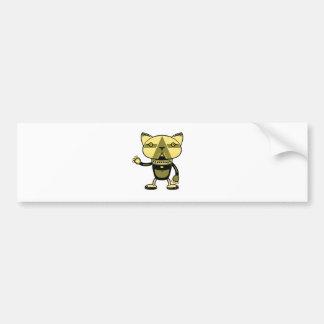 Robokats - Vol 3: Cleokatra Bumper Sticker