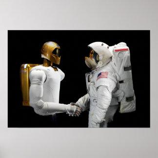 Robonaut 2, a dexterous, humanoid astronaut hel 2 poster