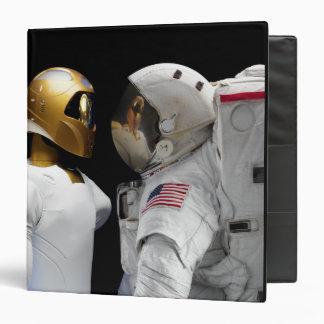 Robonaut 2, a dexterous, humanoid astronaut hel 3 3 ring binder