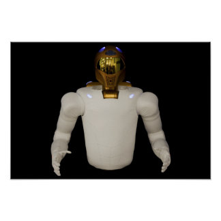 Robonaut 2, a dexterous, humanoid astronaut hel 3 poster