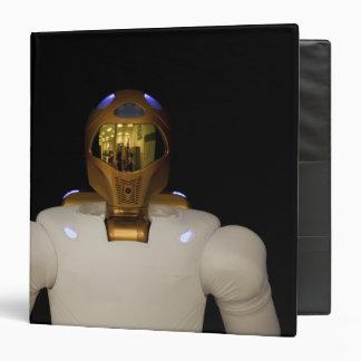 Robonaut 2, a dexterous, humanoid astronaut hel 3 ring binder