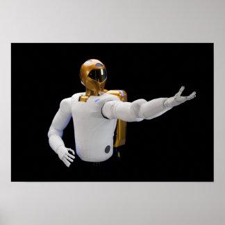 Robonaut 2, a dexterous, humanoid astronaut hel 5 poster