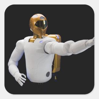 Robonaut 2, un diestro, hel 2 del astronauta del pegatina cuadrada