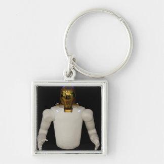 Robonaut 2, un diestro, hel 5 del astronauta del llavero cuadrado plateado