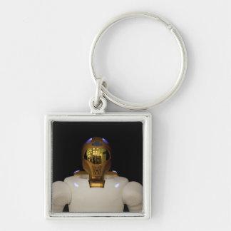 Robonaut 2, un diestro, hel del astronauta del llavero cuadrado plateado