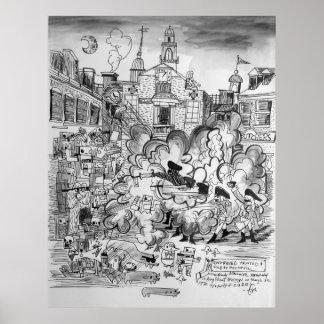 RoBoston Massacre Poster