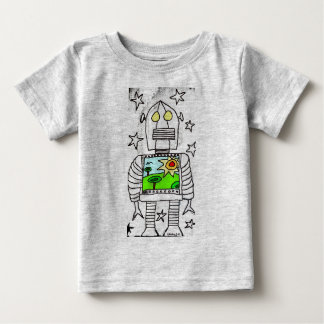 Robot1 Baby T-Shirt