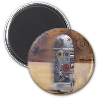 ROBOT2 2 INCH ROUND MAGNET