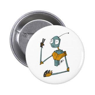 Robot 13 Button