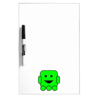 robot-156971  robot green android happy vehicle CA Dry-Erase Whiteboards