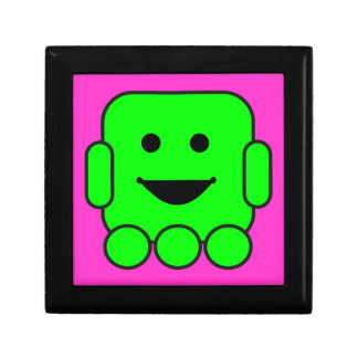 robot-156971  robot green android happy vehicle CA Trinket Box