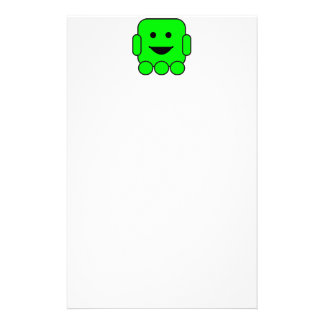 robot-156971  robot green android happy vehicle CA Stationery