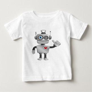 """Robot 1"" Baby T-Shirt"