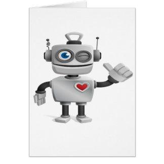 """Robot 1"" Cards"