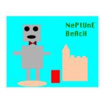 Robot 1 de la playa de Neptuno Tarjetas Postales