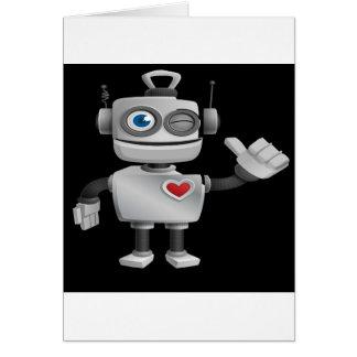 """Robot 1"" in black Cards"