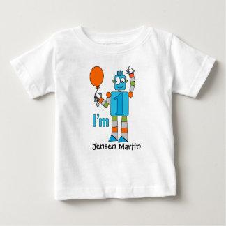 Robot 1st Birthday Party Infant T-shirt