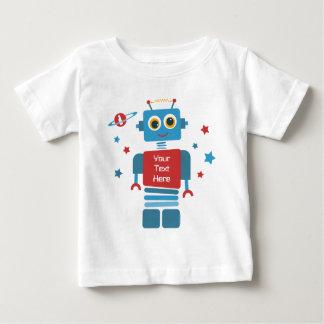 Robot 1st Birthday PD Tee Shirt