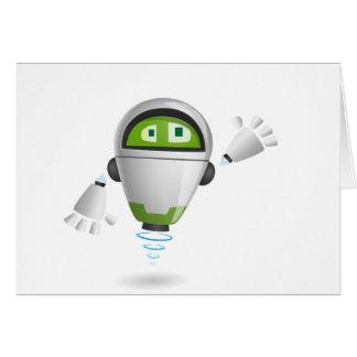 """Robot 2"" Card"
