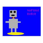 Robot 2 de la playa de Neptuno Tarjeta Postal