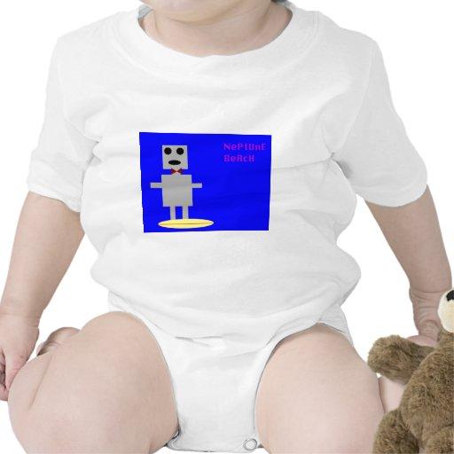 Robot 2 de la playa de Neptuno Traje De Bebé