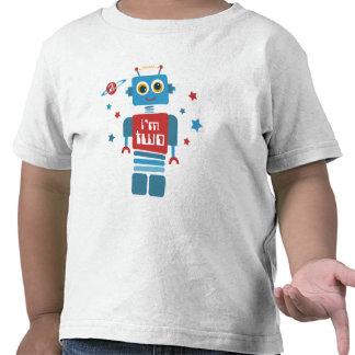 Robot 2nd Birthday T Shirts