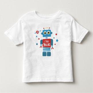 Robot 2nd Birthday Shirts