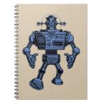 Robot 313 - azul libro de apuntes