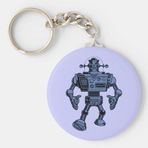 Robot 313 - azul llavero