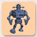 Robot 313 - azul posavasos de bebidas