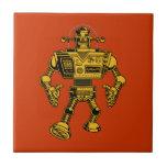Robot 313 -gold ceramic tiles