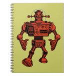 Robot 313 - rojo libreta espiral