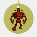 Robot 313 - rojo ornamentos de reyes