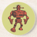 Robot 313 - rojo posavasos manualidades
